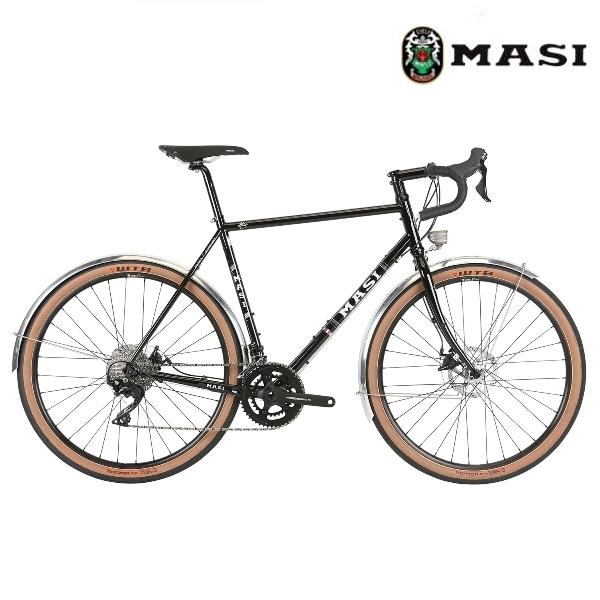 ロードバイク MASI SPECIALE RANDONNEUR ELITE (グロスブラック) 2020 マジィ スぺシャーレ ランドナー エリート アドベンチャーバイク