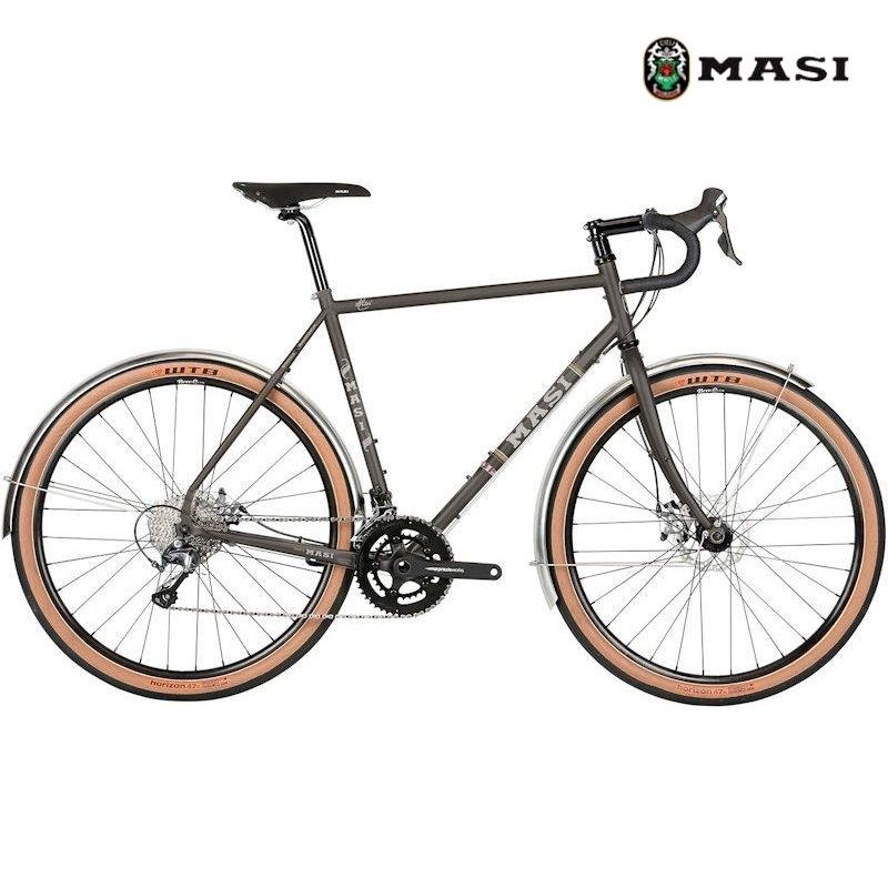 ロードバイク MASI SPECIALE RANDONNEUR (ピューター) 2020 マジィ スぺシャーレ ランドナー アドベンチャーバイク