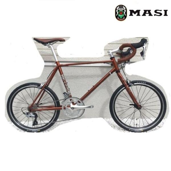 ミニベロ MASI MINI VELO DUE DROP (サスパリラブラウン) 2020 マジィ ミニベロ デュエ ドロップ 小径自転車