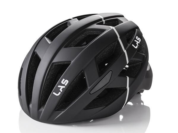 LAS ENIGMA サイクリング ヘルメット (マットブラック) ラス エニグマ 自転車