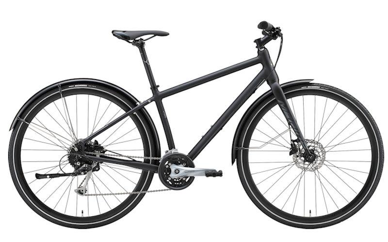 MERIDA クロスバイク メリダ クロスウェイ アーバン 100(マットブラック | EK86) 2020 CROSSWAY URBAN 100