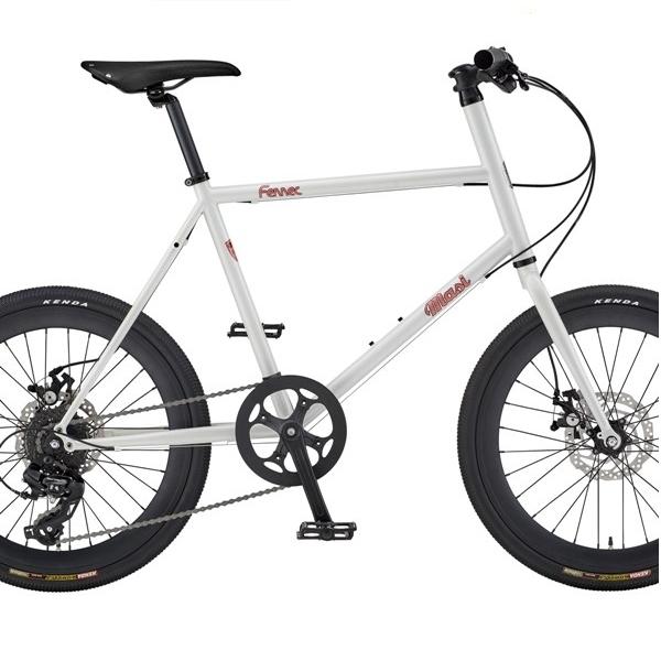 ミニベロ 8スピード バイク MASI Fennec 8 Speed (Peal White)2020 マジィ フェネック MINIVELO バイク