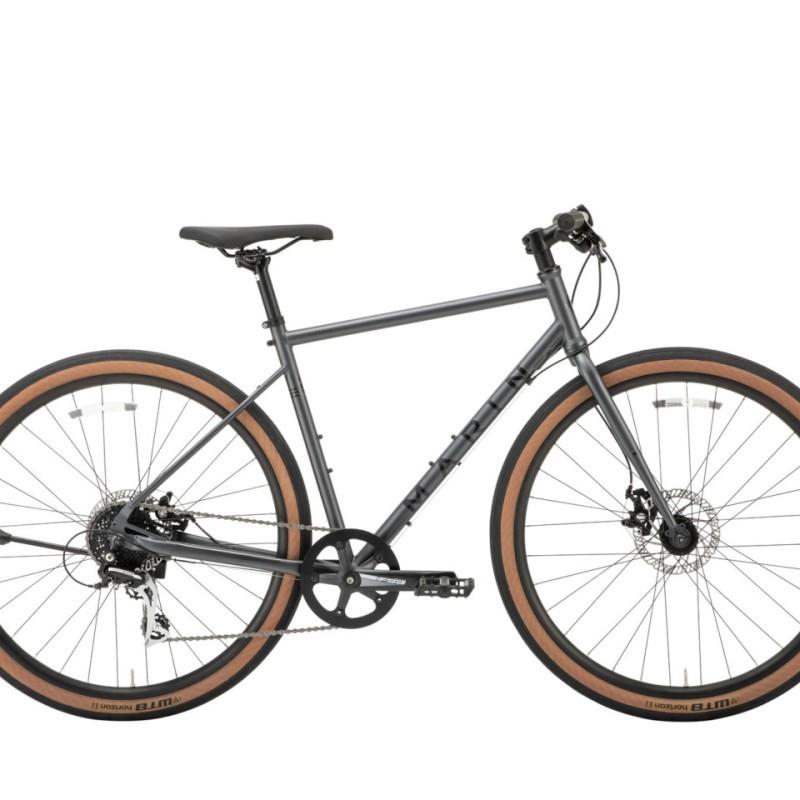MARIN マリンバイク クロスバイク 二カシオ SE (マットグレー) 2020 MARIN NICASIO SE