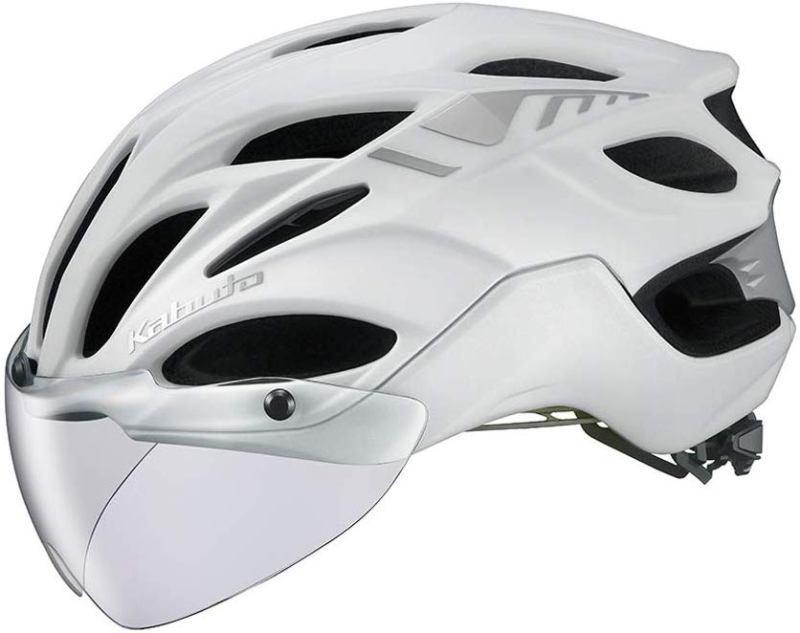 OGK KABUTO VITT (マットパールホワイト ) サイクリングヘルメット オージケー カブト ヴィット 自転車 / Lサイズ
