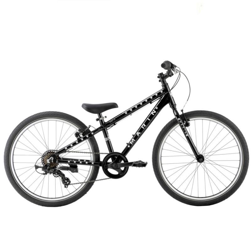 MARIN マリンバイク ジュニアマウンテンバイク  (グロスブラック・グローインザダーク) 2020 MARIN DONKY Jr24 / 子供用自転車