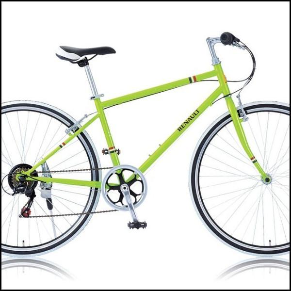 クロスバイク RENAULT CRB7006S グリーン (23583) ルノー700C