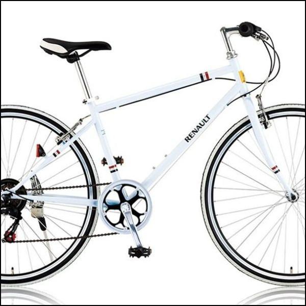 クロスバイク RENAULT CRB7006S ホワイト (31100) ルノー700C
