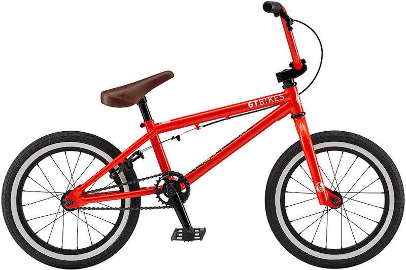 子供用自転車 BMX GT Performer 16 (レッド) 2019 ジーティー パフォーマー 16 バイシクル モトクロス