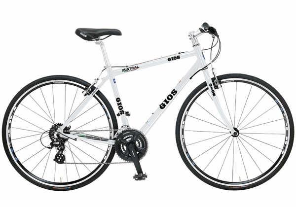 クロスバイク ジオス ミストラル (ホワイト) 2019 GIOS MISTRAL