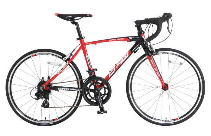 ドッぺルギャンガー 24インチロードバイク D40J-RD タラニスジュニア (DOPPELGANGER D40J-RD TARANIS Junior) 【送料無料・メーカー直送・代引不可】