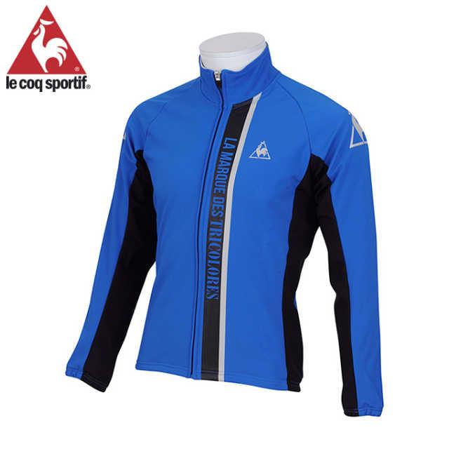 ルコック デベース3Lジャケット (ブルー) (Lサイズ) (QC-840463 BDL) メンズ サイクル ウェア le coq sportif MEN'S 02P03Dec16