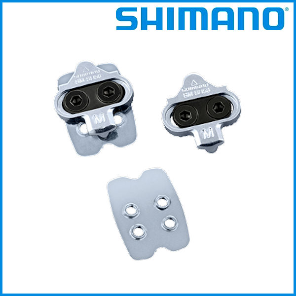 01e1b5dbd18 auc-ad-cycle  SPD pedal cleat set (multi-release mode pair) binding   Y41S98090  with SHIMANO SM-SH56 nut plate