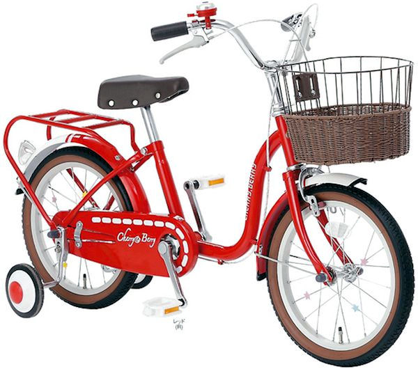 Children's bicycle SOGO cherry and Berry 14-inch 2014 Sogo CHERRY & BERRY 14 baby bike car 02P12Oct14