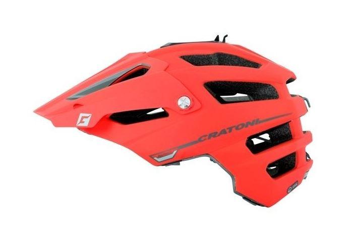 CRATONI / クラトーニ / ALL TRACK オールトラック / Red-blackrubber (サイクルヘルメット)