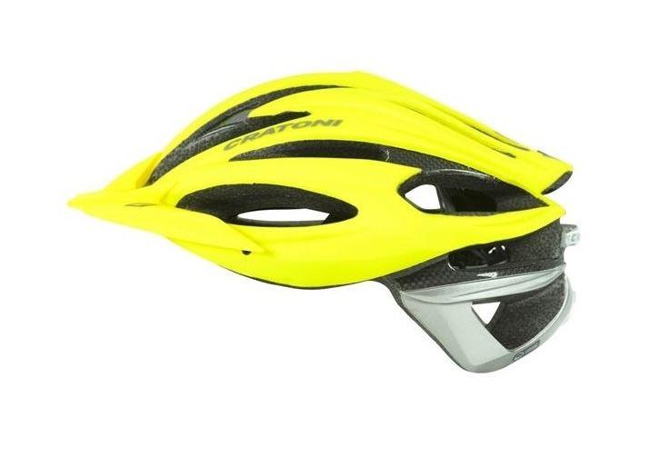 CRATONI / クラトーニ / C-LIMIT シーリミット / Yellow-anthracite rubber (サイクルヘルメット) 02P03Dec16