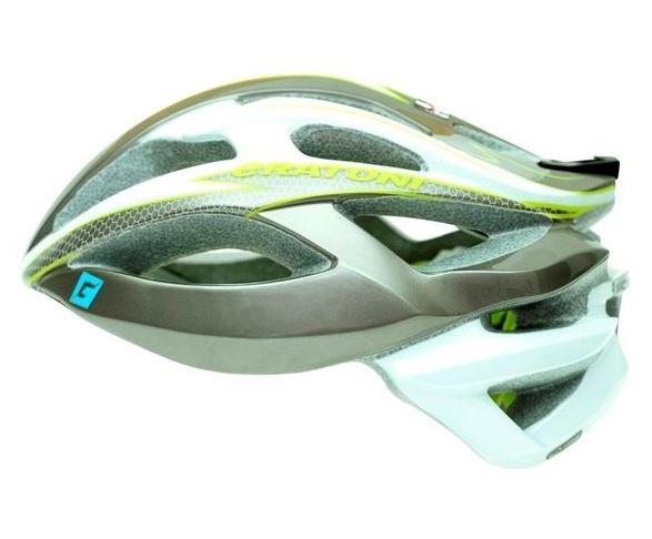 CRATONI / クラトーニ / C-BOLT シーボルト / Anthracite-white lime glossy (サイクルヘルメット) 02P03Dec16