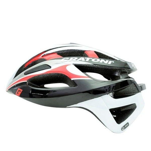 【予約中!】 CRATONI/ クラトーニ// C-BREEZE シーブリーズ// glossy Black whitew-red glossy (サイクルヘルメット) 02P03Dec16, アコウグン:07bf6ff3 --- clftranspo.dominiotemporario.com