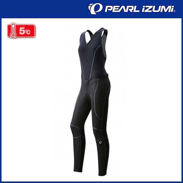 パールイズミ ウィンドブレーク クイック ビブ タイツ (7.ブラック) WT6500-3DNP PEARL iZUMi レディース サイクル ウェア Ladies 女性用 02P03Dec16