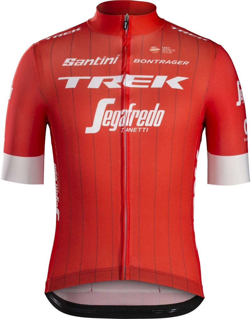 TREK-SEGAFREDO RACE SHORT SLEEVE JERSEY Santini トレックセガフレード レース ショートスリーブジャージ サティーニ サイクル ウェア 半袖