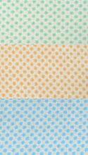 【ロール】立体水玉模様(オレンジ)ラベル【914mm×15M(50μ)×1本】