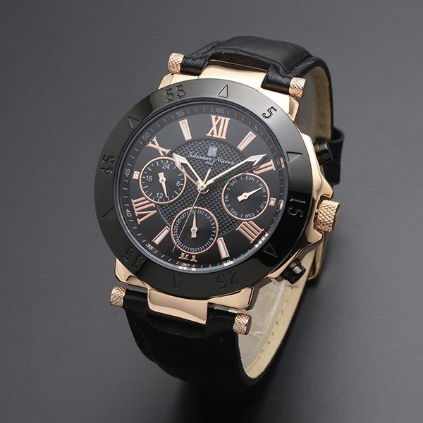 腕時計【Salvatore Marra】サルバトーレマーラ SM14118S-PGBK