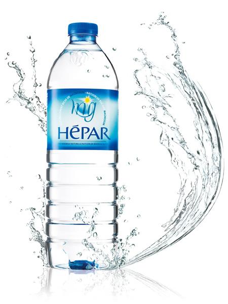 エパー (HEPAR) 무 탄산 물 페트 병 (PET) 1 케이스 (1000ml× 12 책) [경도 1849.0/초 경/프랑스 산]