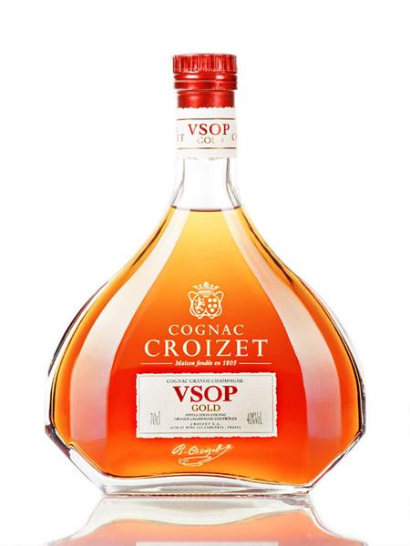 コニャック CROIZET クロアーゼ VSOP Gold 700ml 専用ギフト箱なし ナポレオンが認めたコニャック最古の歴史を誇るブランド【楽ギフ_のし】