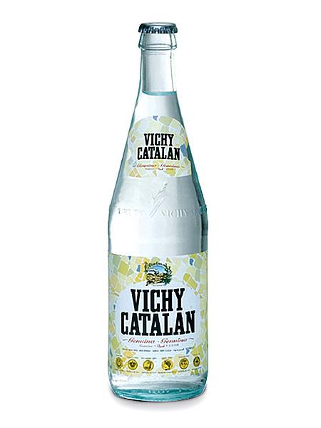 비치카타란(VICHY CATALAN) 천연 발포 탄산수 글라스(병) 1케이스(500 ml×20개) [경도 82.0/연수/스페인산]