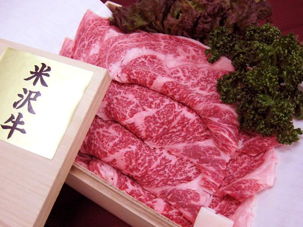 最高級 熟成 米沢牛 A5等級メス リブロース 焼肉用 900g 桐箱入【_のし】