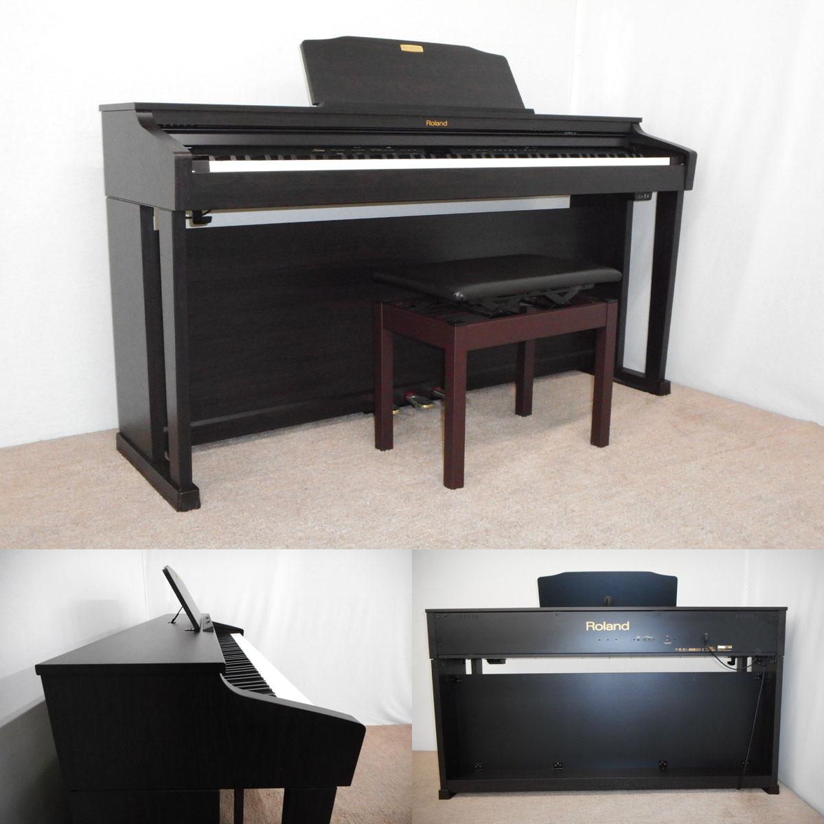 【111926】【送料無料】Roland 14年 電子ピアノ HP504-RW