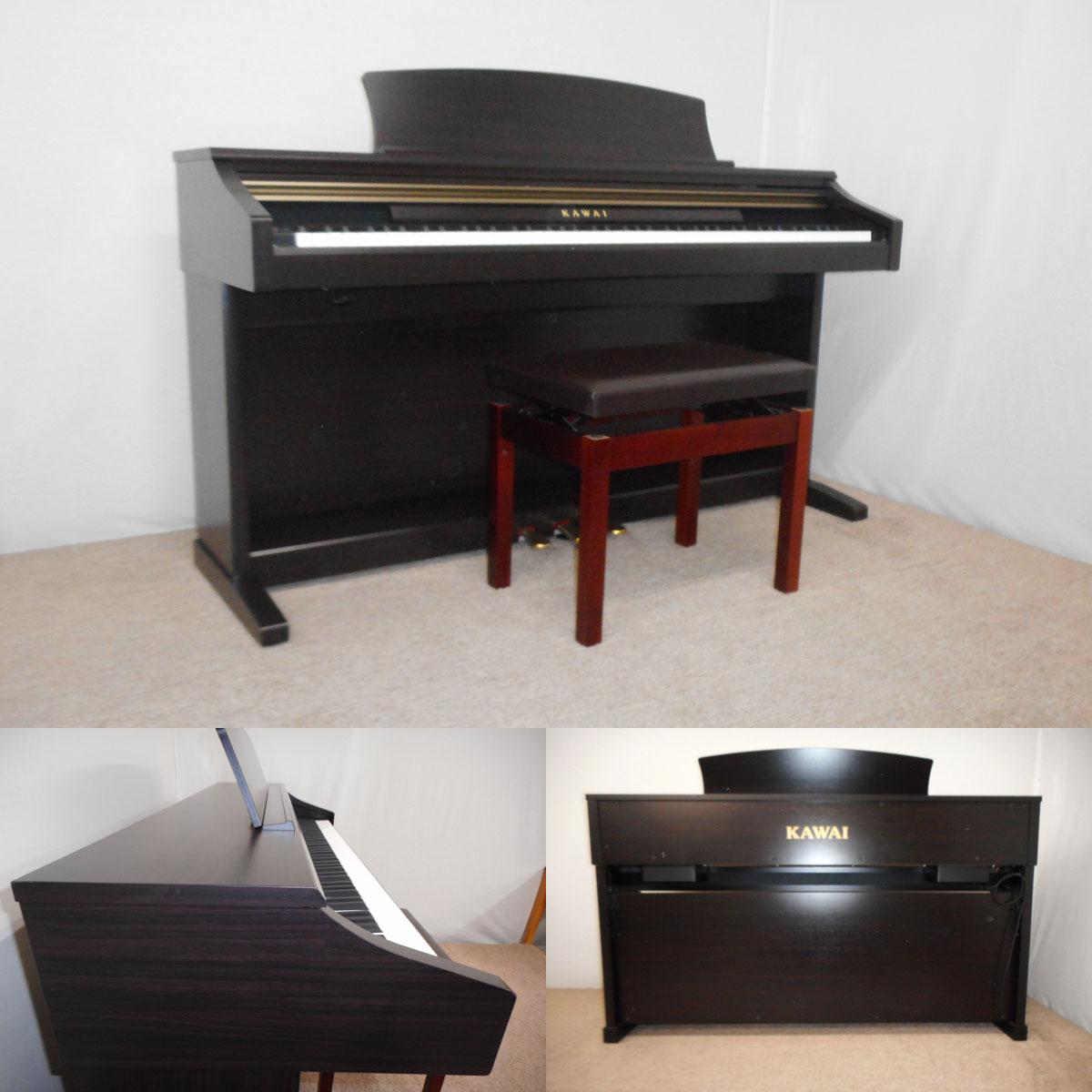 【113405】KAWAI 09年 電子ピアノ CA12R 木製鍵盤
