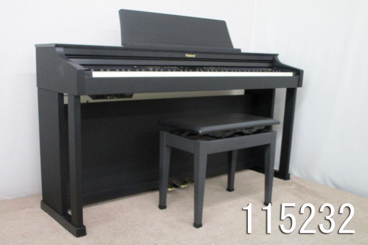 【115232】【中古】【送料無料】【税込】Roland 11年 電子ピアノ HP305-SB