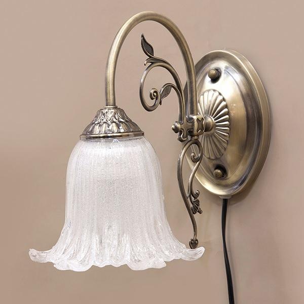 ブラケットライト クラシカルウォールランプ イザベラ 1灯 LED電球対応 アンティークブロンズ  ak-dl16569-1w-ab