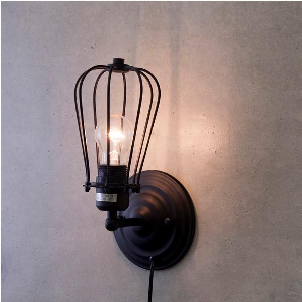 ブラケットライト ヴィンテージウォールランプ W135 F LED電球対応  ak-w135-f