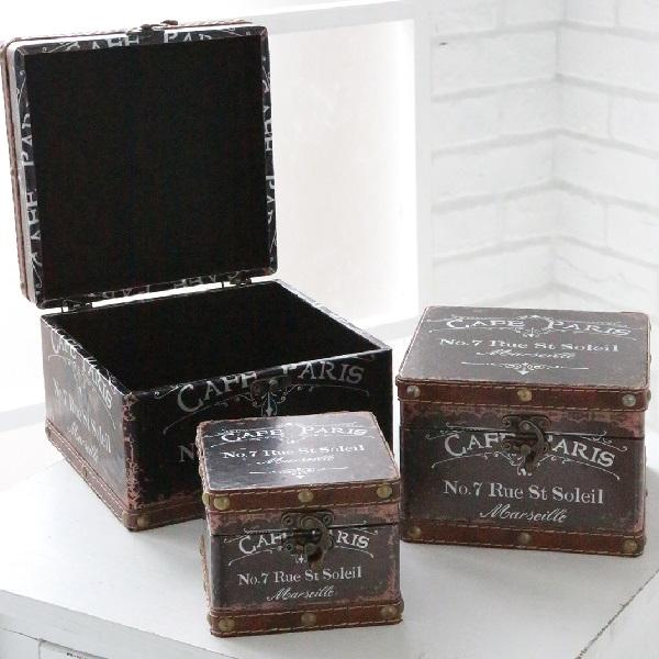 ボックス カフェパリ・ボックス3個セット  co-ls-02