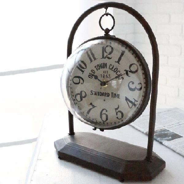 置き時計 ダングルボール・クロック  co-ny-03