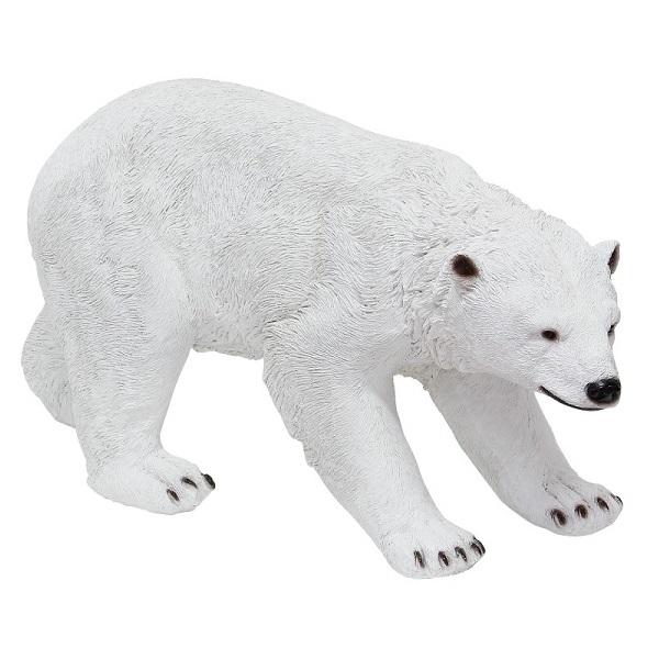 ソリッドオブジェ 白クマ C ma-4007940-03