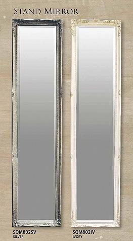 【送料無料】 【代引不可】 【メーカー直送】 ANCIENT STAND MIRROR姿見 鏡 スタンドミラー ミラーsp-sqm802smtb-k w2