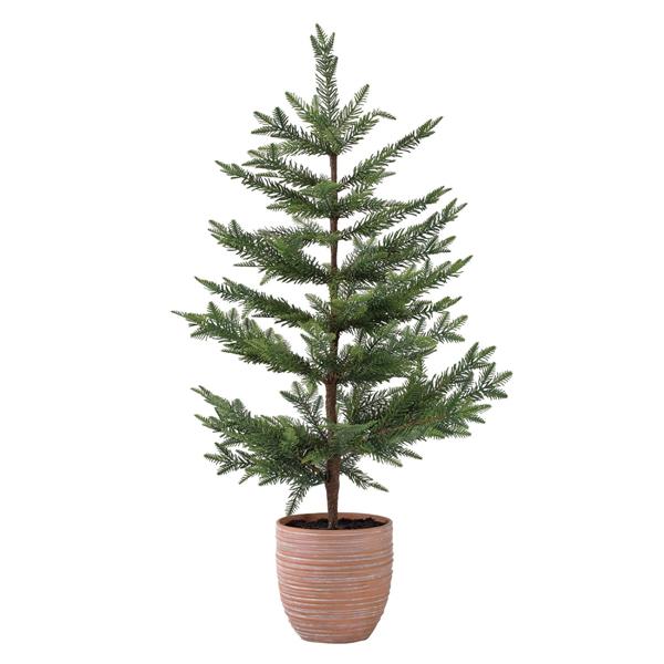 クリスマス テラコッタポットツリー Lサイズ  sp-xhxk3903