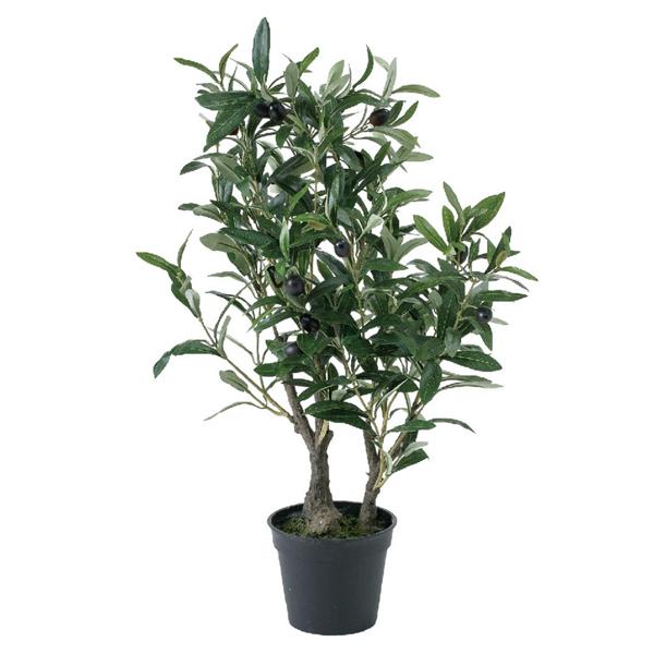 【メーカー直送】【代引き不可】フェイクグリーン オリーブの木 60cm  sp-cxgk1012