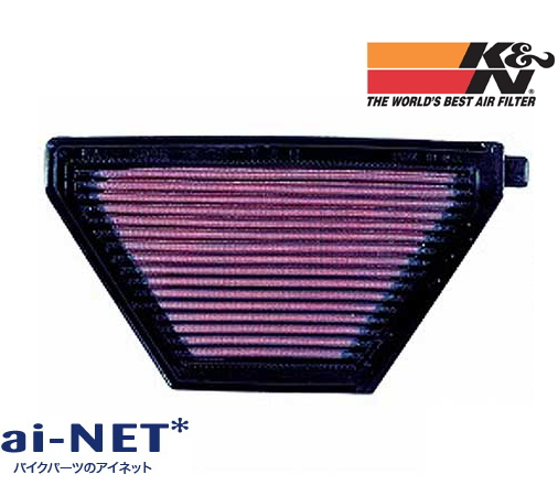 【セール特価】【K&N[ケイアンドエヌ]】[エアフィルター][エアエレメント] 【EN500 バルカン (96-01)】【KA-5096】[純正交換]タイプ [リプレイスメント]フィルター