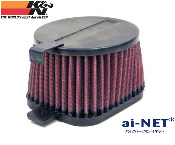 【セール特価】【K&N[ケイアンドエヌ]】[エアフィルター][エアエレメント] 【SR400 SR500 VMキャブ ['78-'87]】【YA-1050】[純正交換]タイプ [リプレイスメント]フィルター