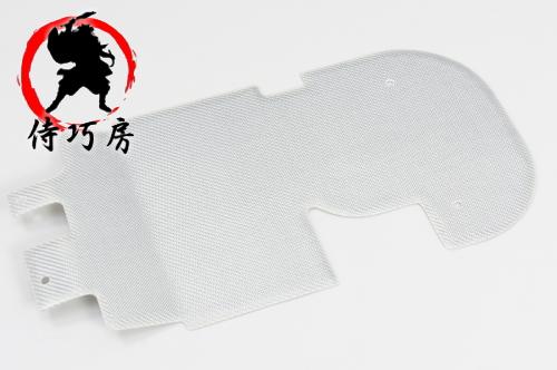 【侍巧房】【ZOOMER[ズーマー]】 [01~12] ラゲッジボード カスタムパネル FRP シルバーカーボン仕上げ