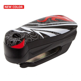 【セール特価】バイク 防犯【ABUS アバス アブス】アラームディスクロック Detecto 7000 RS 1 flame black Detecto 7000 RS1 バイク盗難防止 セキュリティー【あす楽】 キャッシュレス5%還元