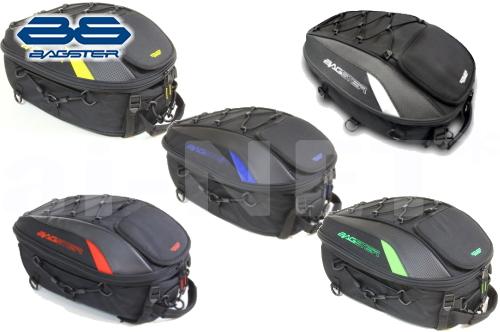 【BAGSTER[バグスター]】 シートバッグ SPIDER(スパイダー) 15-23L ツーリングバッグ テールバッグ キャッシュレス5%還元