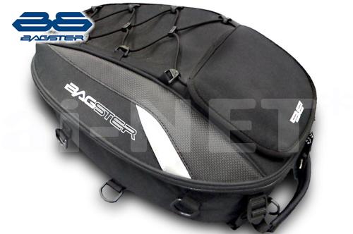 バッグ【セール特価】シートバッグ SPIDER(スパイダー) 15-23L 4899B1 ブラック【BAGSTER バグスター】フルフェイス ヘルメット 収納可能【あす楽】 キャッシュレス5%還元