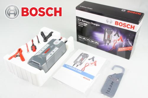 【送料無料】【BOSCH[ボッシュ]】 バッテリーチャージャー C3 フルオートマチック 6V/12V対応 BAT-C3 バッテリー充電器 キャッシュレス5%還元
