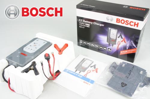 【スーパーセール開催】【送料無料】【BOSCH[ボッシュ]】 バッテリーチャージャー C7 フルオートマチック 12V/24V対応 BAT-C7 バッテリー充電器