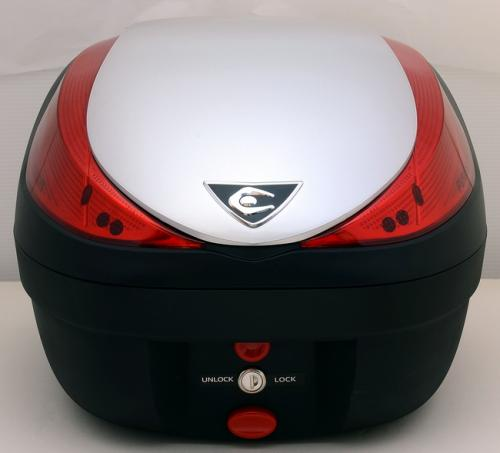 【送料無料】COOCASE[クーケース] V28 FUSION[フュージョン] SPEC-F2 メタリックシルバー【リアボックス】【リアケース】 キャッシュレス5%還元