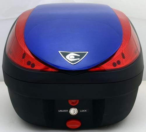 【送料無料】COOCASE[クーケース] V28 FUSION[フュージョン] SPEC-F2 メタリックブルー【リアボックス】【リアケース】 キャッシュレス5%還元